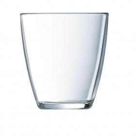 Vasos Redondo de Vidrio LUMINARC Concepto 9x9cm 6 ud- Transparente