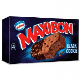 Sandwich Black Cookie Maxibon Nestlé Helados 4 ud.