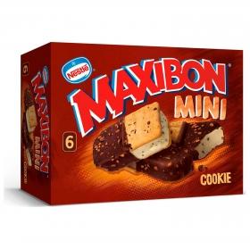 Mini sandwich con galletas Maxibon Nestlé Helados 6 ud.