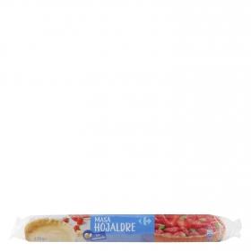 Masa de hojaldre con mantequilla Carrefour 230 g.