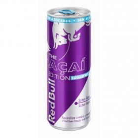 Bebida energética Red Bull The Acaí Edition sin azúcar 25 cl.