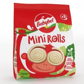 Mini enrrollados de queso Babybel pack de 5 unidades de 17 g.