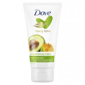 Crema de manos con aceite de aguacate y extractos de calendula Dove 75 ml.