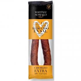 Chorizo sarta reducido en sal Martínez Somalo 230 g.
