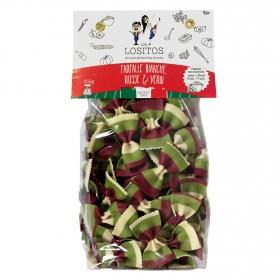 Farfalle vegetales Los Lositos 250 g.