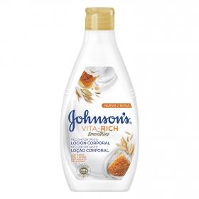 Loción corporal Vita-Rich smoothies reconfortante Johnson's 400 ml.