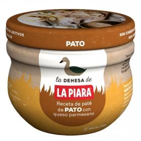 Paté de pato con queso parmesano La Piara 100 g.
