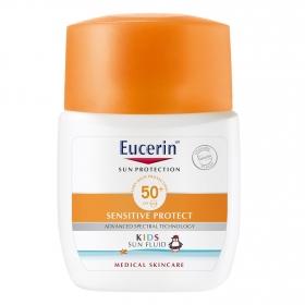 Fluido solar kids SPF50 Sensitive Protect Eucerin 50 ml.