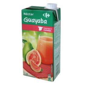 Néctar de guayaba Carrefour brik 1 l.
