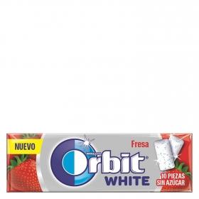 Chciles sabor fresa White Orbit 10 ud.
