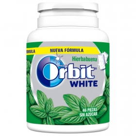 Chicles sabor hierbabuena White Orbit 46 ud.