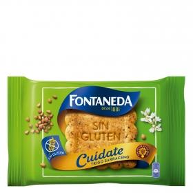 Galletas de trigo sarraceno Fontaneda sin gluten 240 g.