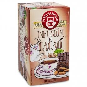 Infusión de cacao en bolsitas Pompadour 18 ud.
