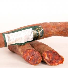 Chorizo cular ibérico bellota 50% raza ibérica taco Los Plantios Valturra pieza 400 g aprox