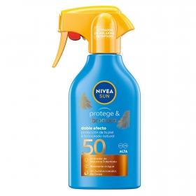 Spray solar Protege & Broncea FP 50 Nivea Sun 300 ml.