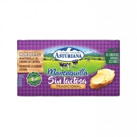 Mantequilla La Asturiana sin lactosa 250 g.
