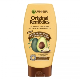 Acondicionador antiencrespamiento con aceite de aguacate Original Remedies 250 ml.