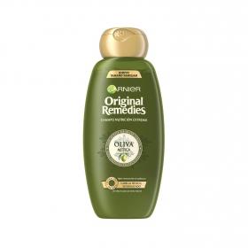 Champú nutritivo con aceite de oliva virgen Original Remedies 600 ml.