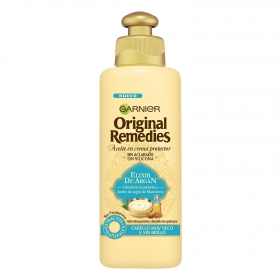 Aceite en crema sin aclarado Elixir de argán Original Remedies 200 ml.