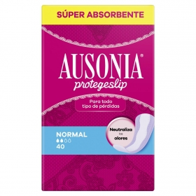 Protegeslip normal Ausonia 40 ud.