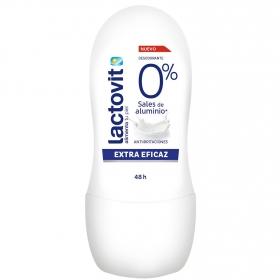 Desodorante roll-on anti irritaciones Lactovit 50 ml.