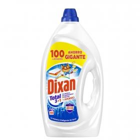 Detergente líquido Total Dixan 100 lavados.