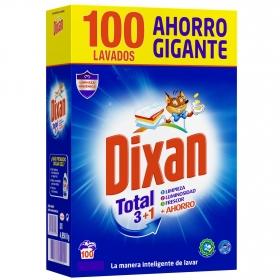 Detergente en polvo Total Dixan 100 lavados