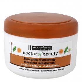 Mascarilla capilar revitalizante con miel de mil flores Les Cosmétiques Nectar of Beauty 500 ml.
