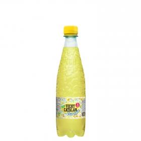 Agua mineral con gas Vichy Catalán natural sabor limón 50 cl.