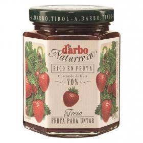 Mermelada de fresa D'arbo 200 g.