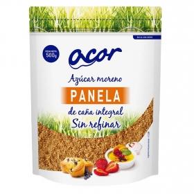 Azúcar moreno de caña integral Acor 500 g.