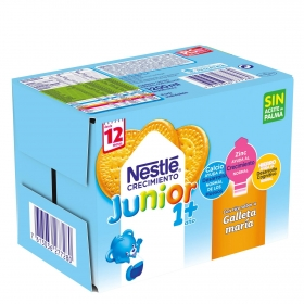 NESTLÉ JUNIOR Crecimiento 1+ Galleta a partir de 12 meses 6x200 ml