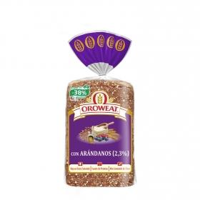 Pan de molde con cereales, semillas y frutos rojos Oroweat Bimbo Oreweat 680 g.