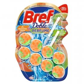 Colgador WC aroma melocotón y manzana Bref 2 ud.