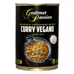 Curry vegano Gourmet Passion sin gluten 400 g.