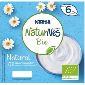 NATURNES BIO TARRINA Natural 4x90 g