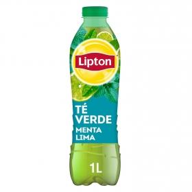 Refresco de té verde sabor menta-lima Lipton botella 1 l.