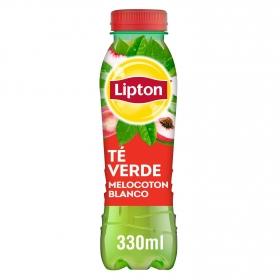 Refresco de té verde sabor melocotón Lipton botella 33 cl.