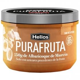 Mermelada de albaricoque Purafruta Helios sin gluten 250 g.