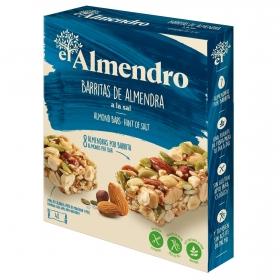 Barritas de almendras a la sal El Almendro sin gluten 84 g.