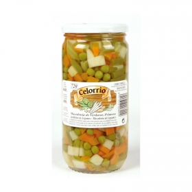 Macedonia de verduras Celorrio 400g.