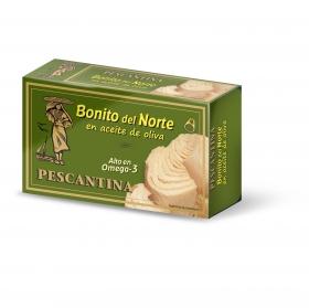 Bonito del norte en aceite de oliva Pescantina 72,5 g.