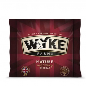 Queso Cheddar blanco Wyke 9 meses curación Iberconseil 200 g