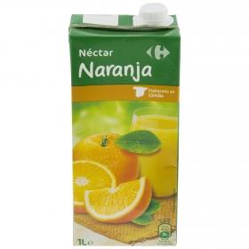 Néctar de naranja Carrefour brik 1 l.
