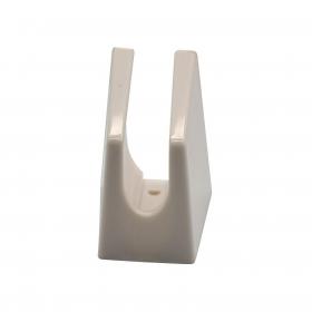Soporte Ducha de Plástico CARREFOUR HOME  4 cm - Blanco