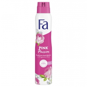 Desodorante en spray Pink Passion Fa 200 ml.