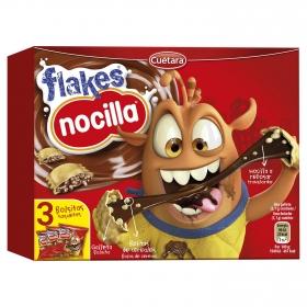 Galletas con cereales y chocolate Nocilla 105 g.