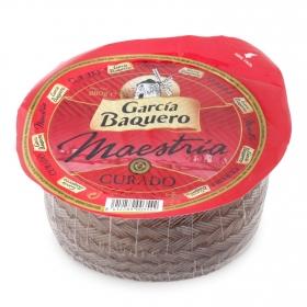 Queso curado mezcla mini al vacio García Baquero pieza de 880 g