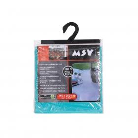Mantel Individual Rectangular de PVA MSV 1pz - Azul