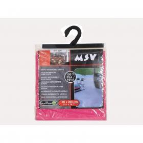 Mantel Individual Rectangular de PVA MSV 1pz - Rosa